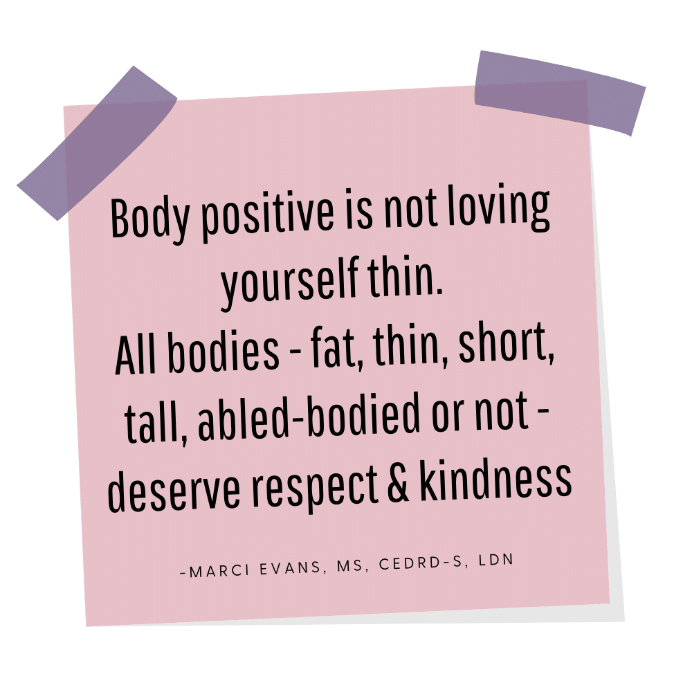 Body image online group