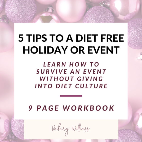 5 Tips to a diet free holiday or event