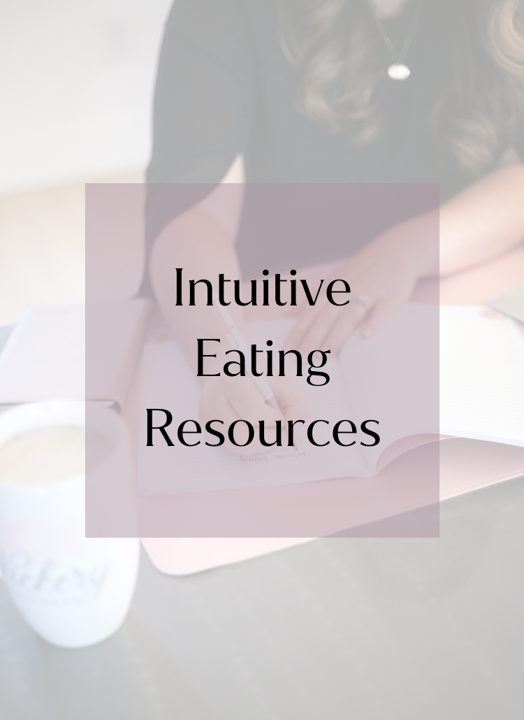 Intuitive Eating body image resources athens, ga
