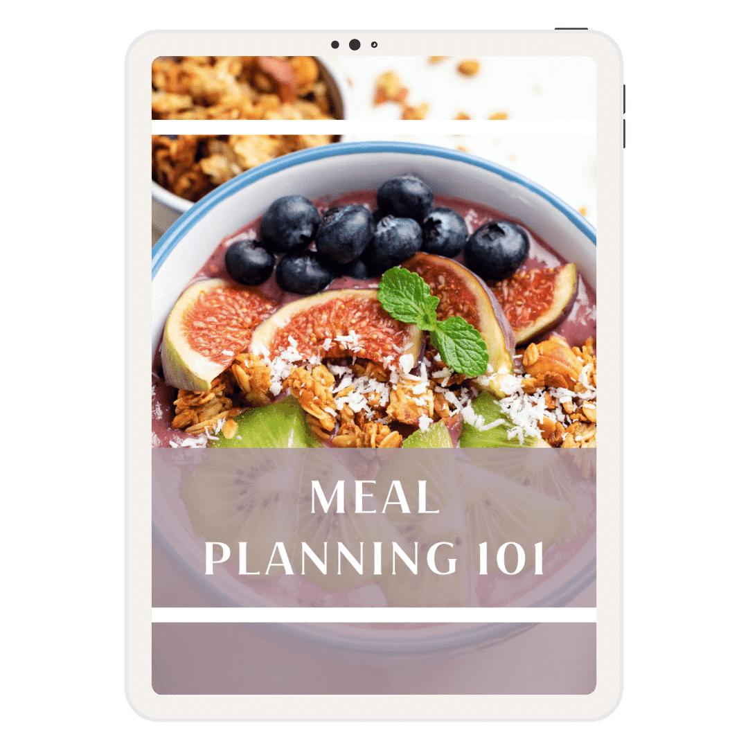 Meal Planning 101 Dietitian Nutritionist Athens GA Georgia