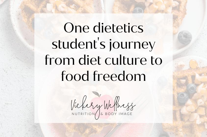 dietetics student uga food freedom diet culture athens ga