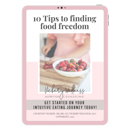 10 TIPS TO FINDING FOOD FREEDOM VICKERY WELLNESS ATHENS GA